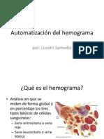 Automatización del hemograma