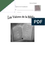 Los Valores de La Biblia