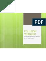 Pollution Webquest