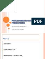 PROCESOS DE FABRICASION