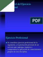 El Control Del Ejercicio Profesional Ing Doctor Saruba