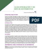 DINÁMICAS DE INTEGRACIÓN Y DE EXPRESIÓN DE SENTIMIENTOS
