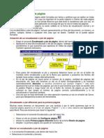 Guía para explicar Encabezados y pies de página