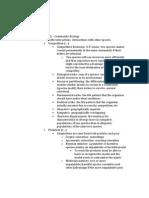 Study Guide Bio 3