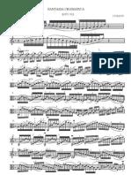 Bach - Fantasia Cromatica - Parte Di Viola Sola (Rev. Giuranna)