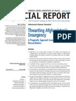 Afghanistan- Thwarting Afghanistan's Insurgency