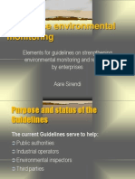 Guidelines.environmentalSelfMonitoring