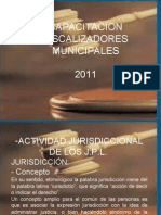 Presentación Inspectores Municipales