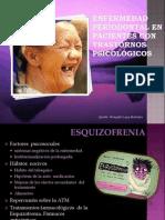 Enfermedad Periodontal en pacientes con trastornos psicológicos