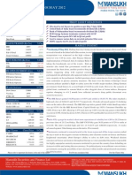 Go Ahead for Equity Morning Note 08 May 2012-Mansukh Investment and Trading Solution