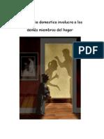 Violencia Domestica Trabajo Del Diplomado