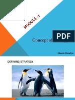 Strategic Management. Module 1_MBA_Bangalore University