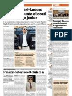 La Gazzetta dello Sport 07-05--2012 - Calcio Lega Pro - Scandalo Scommesse