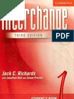 Interchange Student Book 1 - 3rd Edition