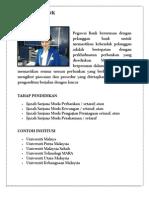 Info Kerjaya