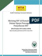 Skrining HIV Di Rumah Sakit Dalam Upaya Pencegahan Penyebara
