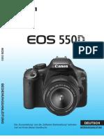 Canon EOS 550 D Bedienungsanleitung Deutsch