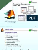 DSP 6 - FIR Filter Design