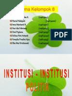 institusi politik