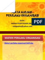 (Bab 1) Pengantar Perilaku Organisasi