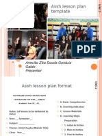 A Lesson Plan Template