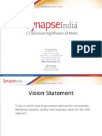 Synapse India Corporate Presentation PPT
