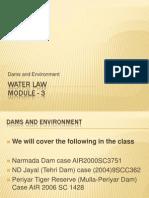 Dam vs. Environment