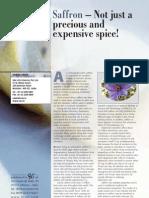 Saffron Article Jan - Feb 2011