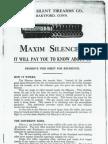 Maxim Silencer Brochure