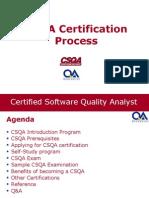 CSQACertificationTrainingProcess