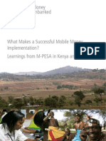 M-pesa Case Study