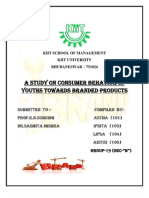 A Study on the Consumer Behavior of Youths Towards Branded Products (2)