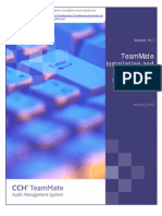 TeamMate Installation and Technical Configuration Guide