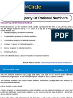 Closure Property of Rational Numbers