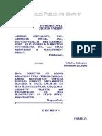Airtime Specialists, Inc. vs. Calleja G.R. No. 80612-16, December 29, 1989, 180 SCRA 749