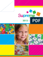 Supreme 4 Schools - 2012/2013 Catalogue