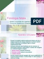 Medicina Fetala - Curs 4 - Fiziologia Fetala