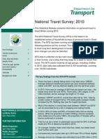 Travel Stats Uk