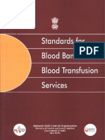 24, Standards for Blood Banks and Blood Transfusion Services