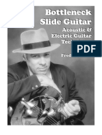 Bottleneck Slide Guitar Fred Sokolo
