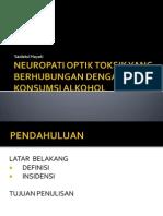 Neuropati Optik Toksik Yang Berhubungan Dengan Konsumsi Alkohol
