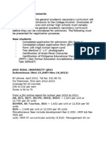 JRU Admission Requirements