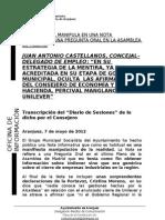 CONTESTACIÓN PSOE ASAMBLEA UNILEVER