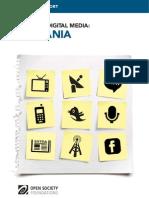 Mapping Digital Media Romania