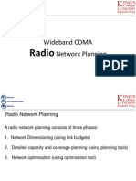 4 WCDMA Radio Network Planning