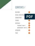 SOCAP:Designing the Future Program Book