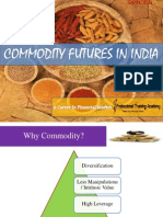 Commodity Futures in India