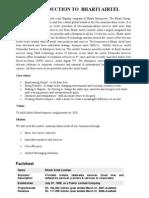 SWOT Analysis Bharti Airtel
