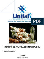 Apostila MINERALOGIA PRATICA 2008 (1)