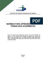 Normas para apresentar trabalhos acadêmicos